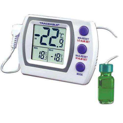 Danby Canada - Traceable Jumbo Refrigerator /Freezer Thermometer with Calibration: 1 Bottle Probe