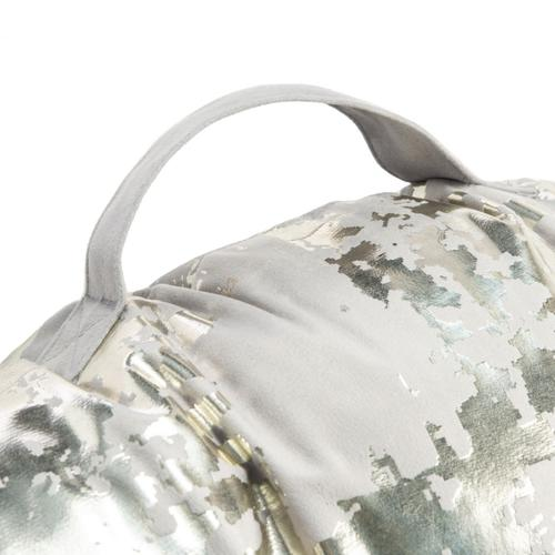 Rensia Square Floor Pillow - Grey / Silver