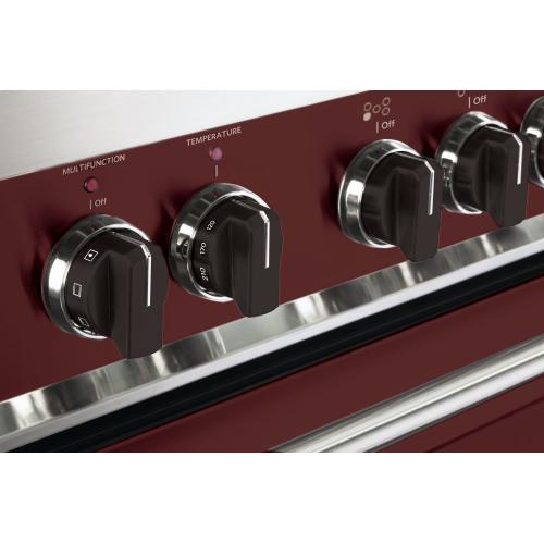 Set of 7 Knobs for Designer Single Oven Electric Range - Black