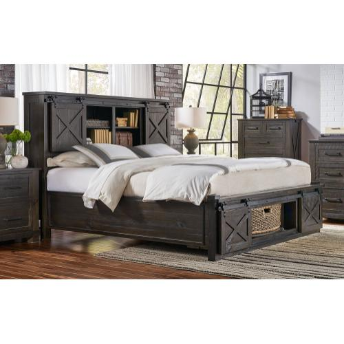 KING ROTATING STORAGE BED