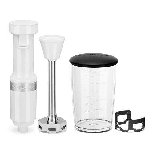 Variable Speed Corded Hand Blender - White