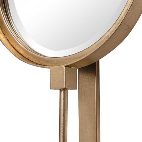 Uttermost - Button Mirror