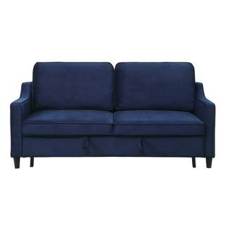 Adelia Navy Sofa w/ Pull-out Bed