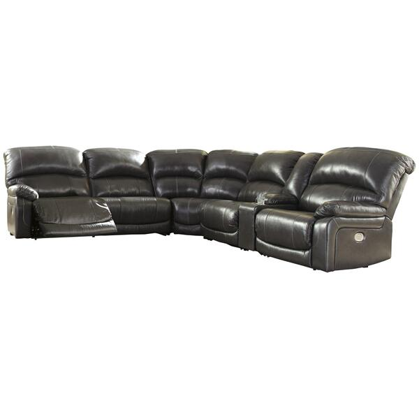 See Details - Hallstrung 6-piece Power Reclining Sectional