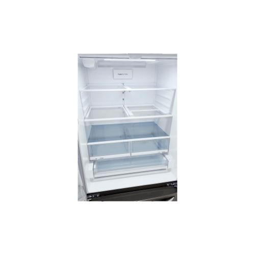 LG - 25 cu. ft. Smart Wi-Fi Enabled French Door Refrigerator