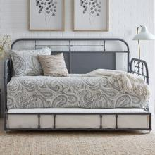 See Details - Twin Metal Trundle - Grey