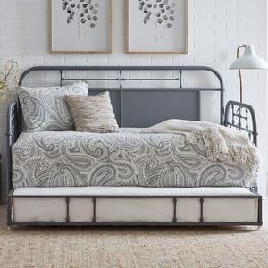 Liberty Furniture Industries - Twin Metal Trundle - Grey