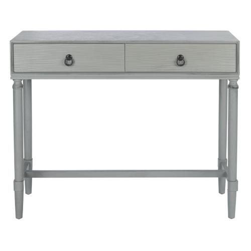 Safavieh - Aliyah 2 Drawer Console Table - Distressed Grey