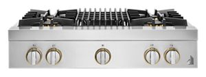 """RISE™ 36"""" Gas Professional-Style Rangetop with Grill"""