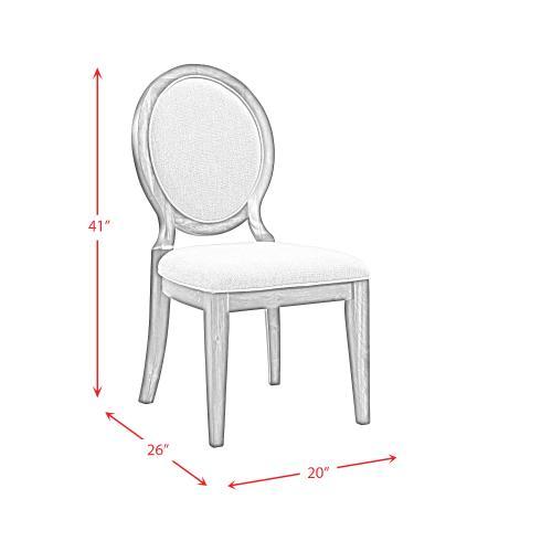 Morrison Round Fabric Chair Set