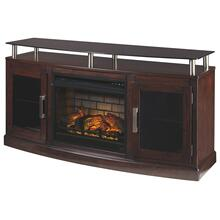 "Chanceen 60"" TV Stand With Electric Fireplace"