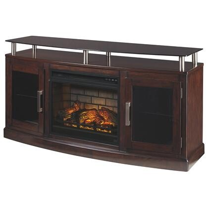 """Chanceen 60"""" TV Stand With Electric Fireplace"""