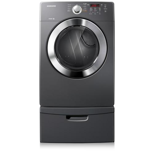 Samsung Canada - DV365ETBGSF 7.3 cu.ft King-Size Capacity Electric Front-Load Dryer (Stratus Grey)