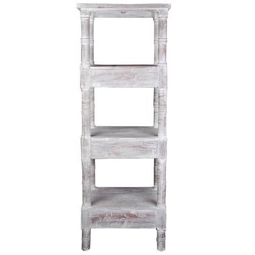 Sunset Trading - Cottage Mahogany Shelves - Distressed Gray
