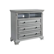 Calloway Media Chest in Grey