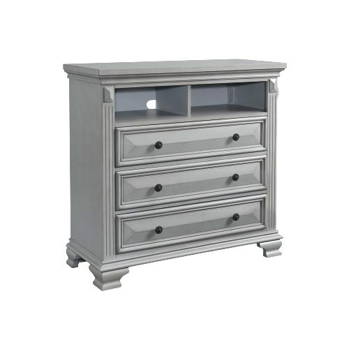 Product Image - Calloway Media Chest in Grey