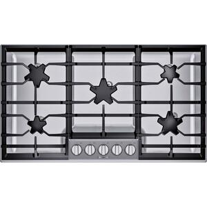 Thermador36-Inch Masterpiece® Pedestal Star® Burner Gas Cooktop