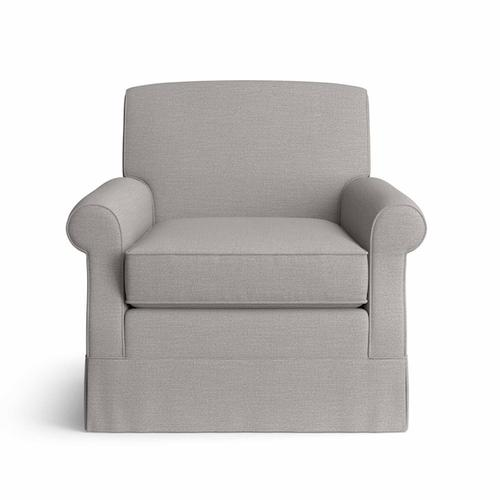 Bassett Furniture - Brevard Swivel Chair with Skirt
