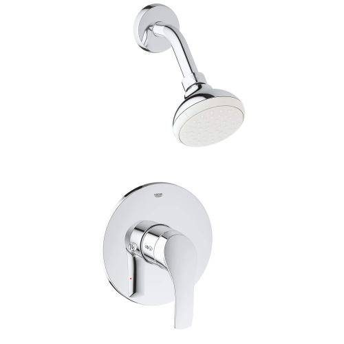 Eurosmart Pressure Balance Valve Tub/shower Combo