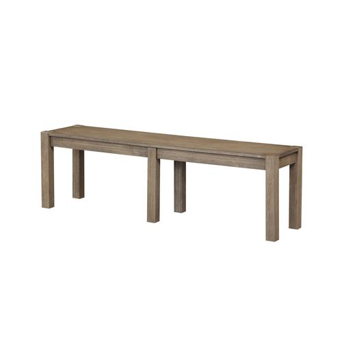 Cambridge Upholstered Bench, Gray Brown 1126-318
