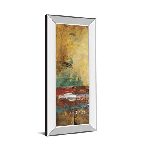 "Classy Art - ""Villarreal Santos I"" By Abulia Mirror Framed Print Wall Art"