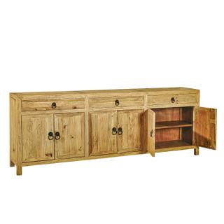 Large Old Elm Sideboard