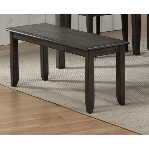 "Dining Bench - Shade of Gray (42"")"