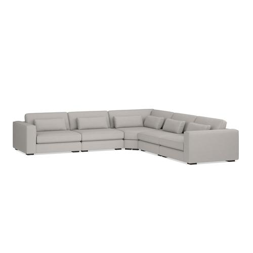 Moby 5 Piece L-Shaped Sectional