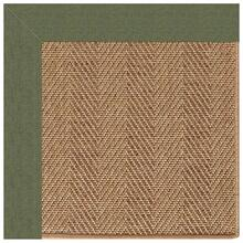 Islamorada-Herringbone Canvas Fern