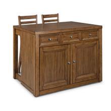 See Details - Tuscon 3 Piece Kitchen Island Set