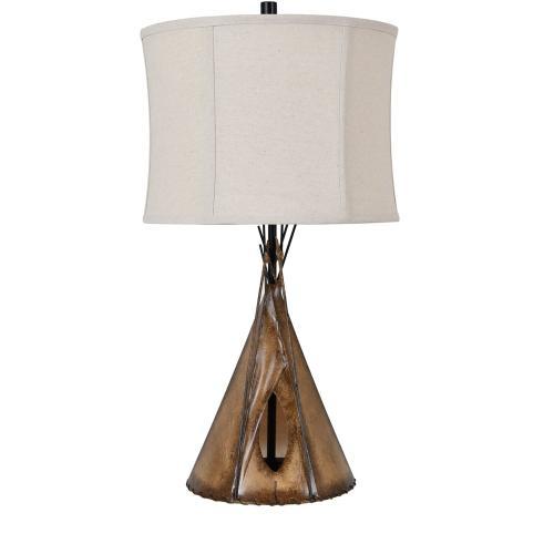 Teepee Table Lamp
