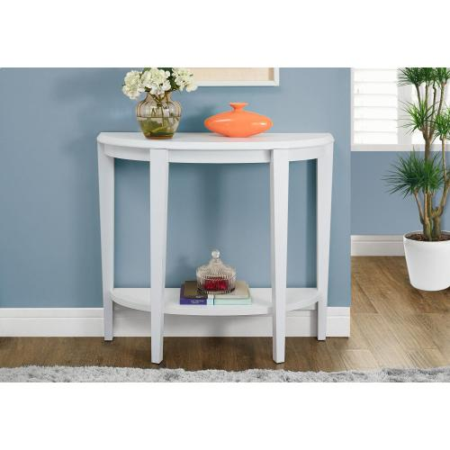 """Gallery - ACCENT TABLE - 36""""L / WHITE HALL CONSOLE"""