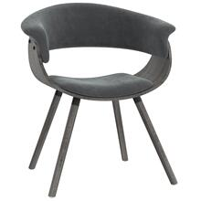 Holt Accent/Dining Chair in Grey Velvet