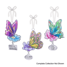 Butterflies Wishes Ornaments (48 pc. ppk.)