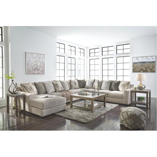 Benchcraft - Ardsley 5-piece Sectional With Chaise