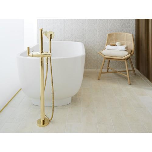 Freestanding Bathtub - Stucco White- DISPLAY