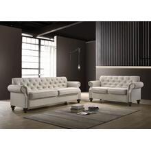 9109 2PC Classic Tufted Living Room SET