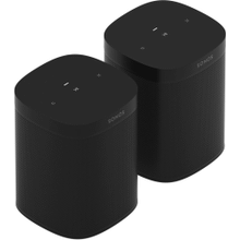 Black- Two Room Set with Sonos One SL