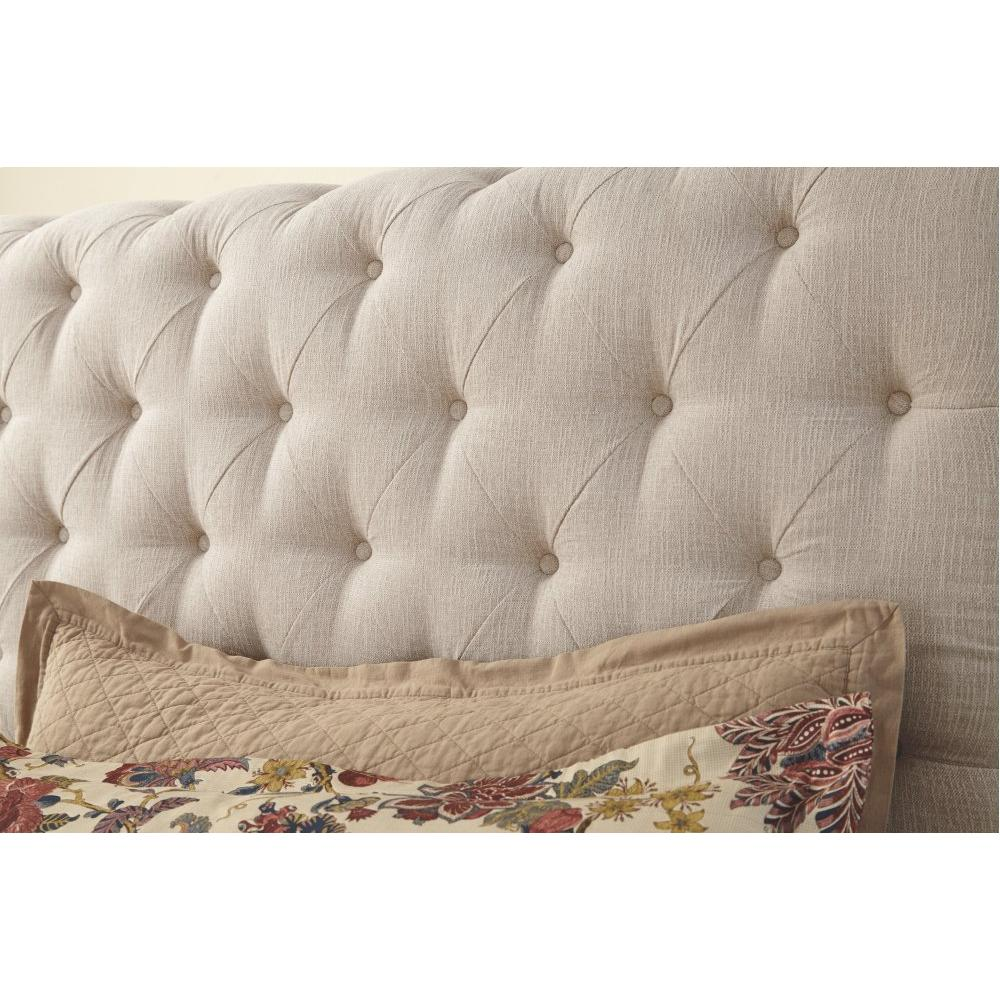 Willenburg California King Upholstered Sleigh Bed