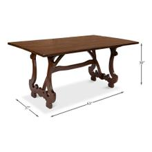 Calambac Dining Table, Walnut
