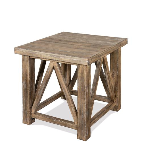 Sonora - Side Table - Snowy Desert Finish
