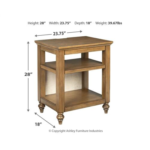 Signature Design By Ashley - Brickwell Accent Table