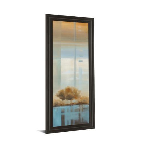 """Classy Art - """"Window On The Word Il"""" By Carol Robinson Framed Print Wall Art"""