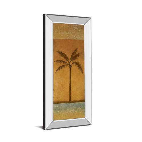 """Golden Palm I"" By Jordan Grey Mirror Framed Print Wall Art"