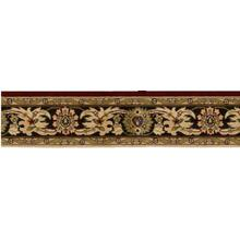 Grand Parterre Kashan Elite Pt01 Red Border