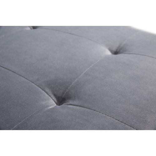 Tov Furniture - Como Grey Velvet Sectional LAF