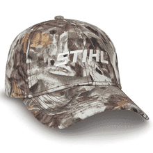 Try something different with this camo cap.