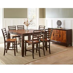 Abaco 54-inch Square Counter Dining