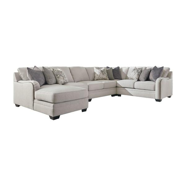 See Details - Dellara 5-piece Sectional With Chaise