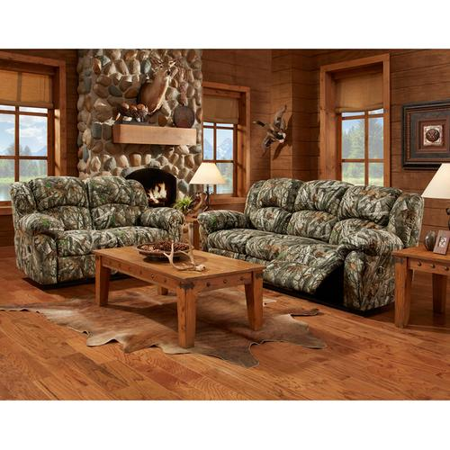Exceptional Designs by Flash Next Camouflage Fabric Reclining Loveseat